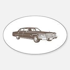 1975 Cadillac Fleetwood Oval Decal
