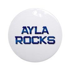 ayla rocks Ornament (Round)