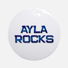 ayla rocks Ornament (Round)