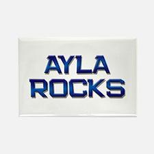 ayla rocks Rectangle Magnet