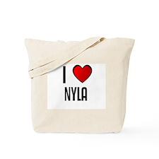 I LOVE NYLA Tote Bag