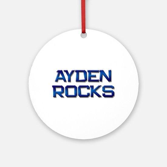 ayden rocks Ornament (Round)