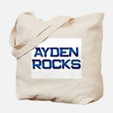 ayden rocks Tote Bag