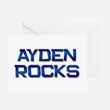 ayden rocks Greeting Card