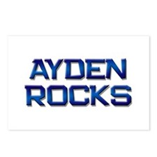 ayden rocks Postcards (Package of 8)
