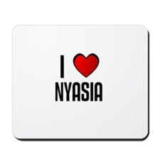 I LOVE NYASIA Mousepad