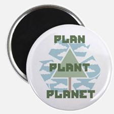 Plan-Plant-Planet Magnet