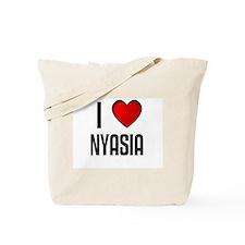I LOVE NYASIA Tote Bag