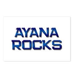 ayana rocks Postcards (Package of 8)