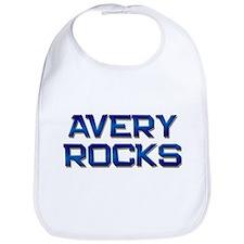 avery rocks Bib