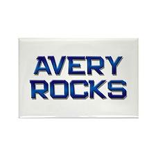 avery rocks Rectangle Magnet