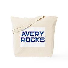 avery rocks Tote Bag