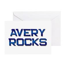 avery rocks Greeting Card