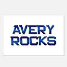 avery rocks Postcards (Package of 8)