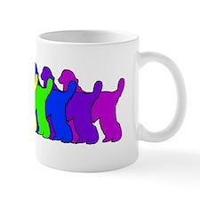 Rainbow Afghan Hound Mug