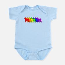 Rainbow Akita Infant Bodysuit