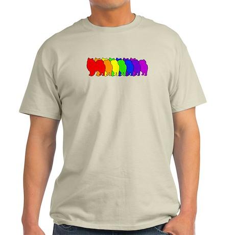 Rainbow American Eskimo Light T-Shirt