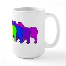 Rainbow Australian Shepherd Mug