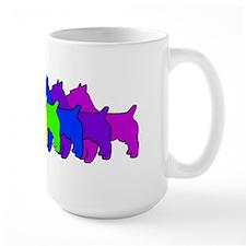 Rainbow Australian Terrier Mug