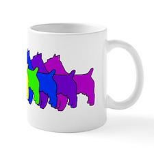 Rainbow Australian Terrier Small Mug
