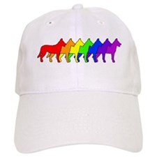Rainbow Beauceron Baseball Cap