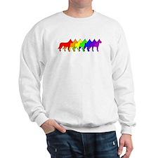 Rainbow Beauceron Sweatshirt