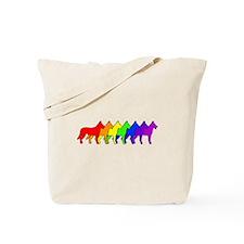 Rainbow Beauceron Tote Bag