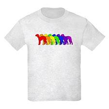 Rainbow Bedlington Terrier T-Shirt