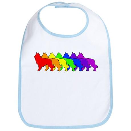 Rainbow Tervuren Bib