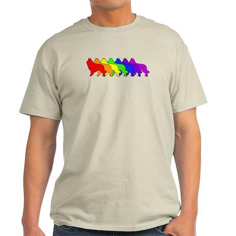 Rainbow Tervuren Light T-Shirt
