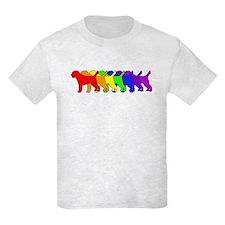 Rainbow Border Terrier T-Shirt