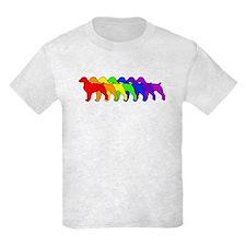 Rainbow Brittany Spaniel T-Shirt
