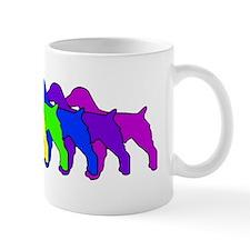 Rainbow Brittany Spaniel Mug