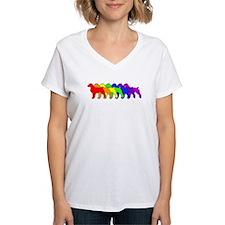 Rainbow Brittany Spaniel Shirt
