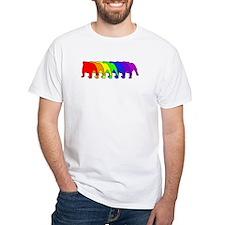 Rainbow Bulldog Shirt