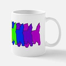 Rainbow Cairn Terrier Mug