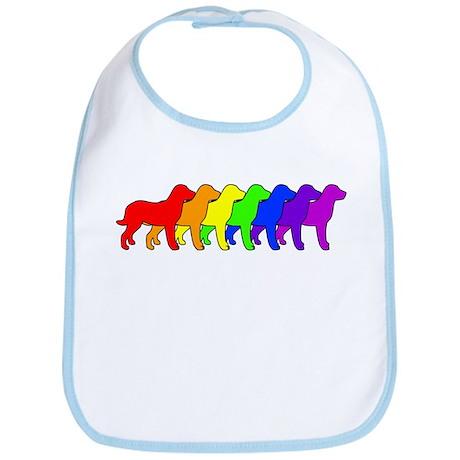 Rainbow Chessie Bib