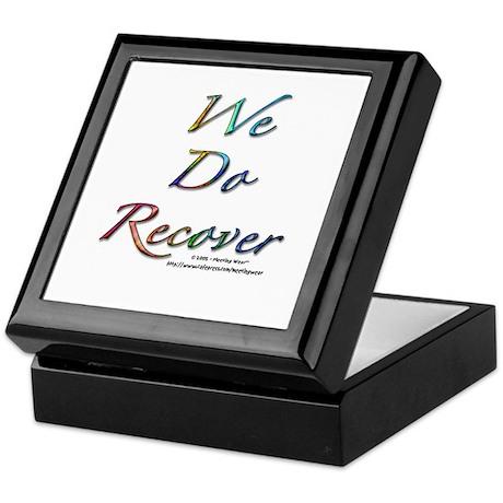 """We Do Recover"" Keepsake Box"