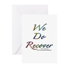 """We Do Recover"" Greeting Cards (Pk of 10)"