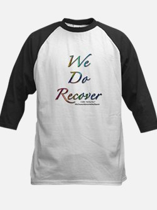 """We Do Recover"" Kids Baseball Jersey"