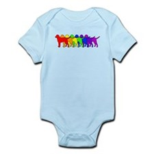 Rainbow Curly Infant Bodysuit