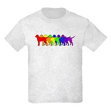 Rainbow Curly T-Shirt