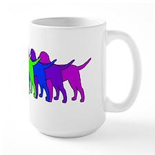 Rainbow Curly Mug