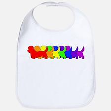 Rainbow Dandie Bib