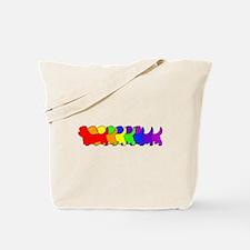 Rainbow Dandie Tote Bag