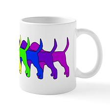 Rainbow Foxhound Mug