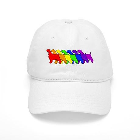 Rainbow Springer Cap