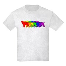 Rainbow Field Spaniel T-Shirt