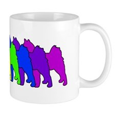 Rainbow Finnish Spitz Mug