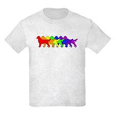 Rainbow Flatcoat T-Shirt